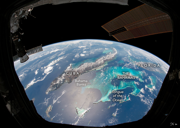 Cupola Over the Caribbean