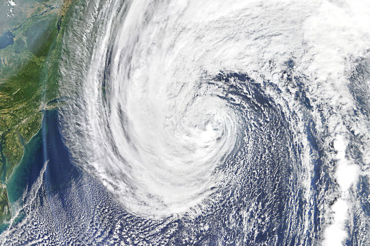 Hurricane Teddy Approaches Nova Scotia