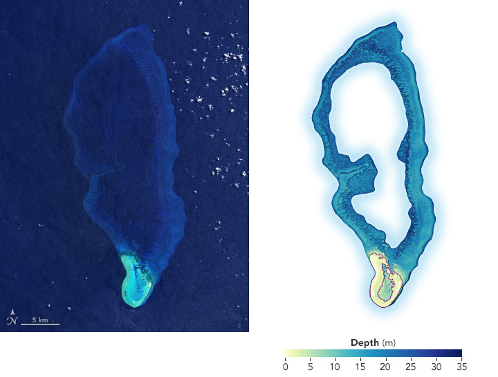 Mapping Shallow Seafloors