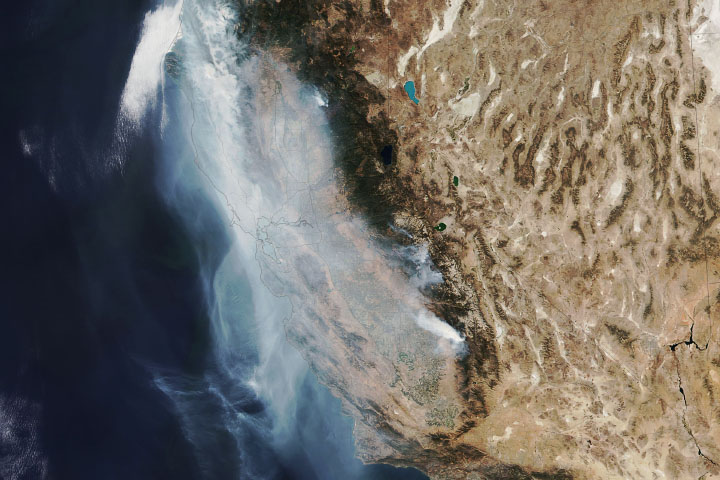 California's Nightmare Fire Season Continues