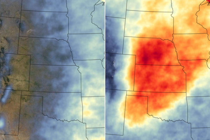Thunderstorms Rumble over the Great Plains