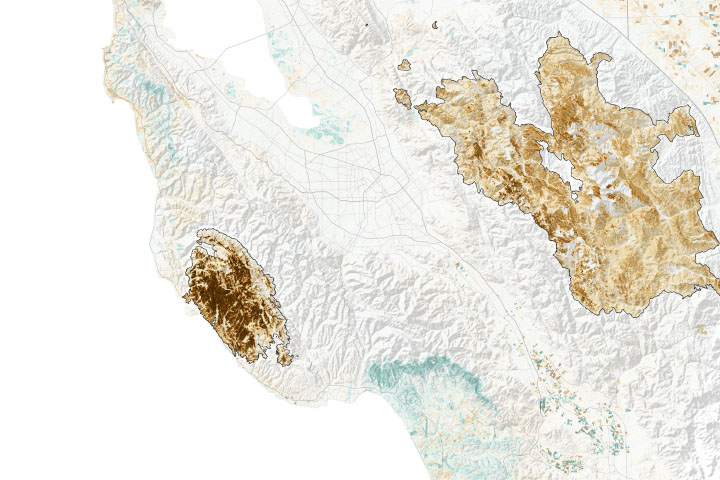Assessing California Fire Scars - selected image