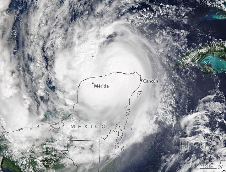 Delta Douses Yucatan