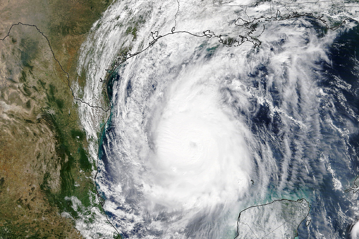 Hurricane Delta Aims for the U.S. Gulf Coast