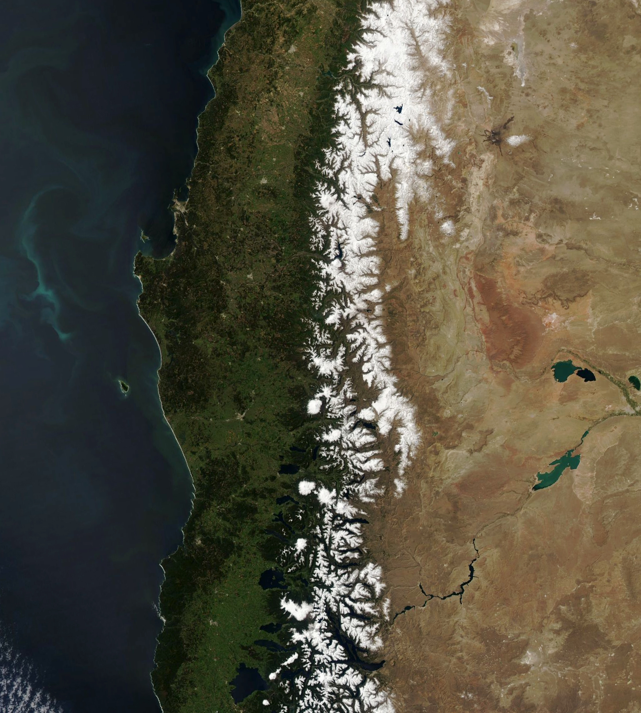 Snow Melts in the Andes - related image preview