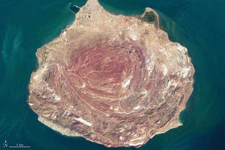 Iran's Rainbow Island