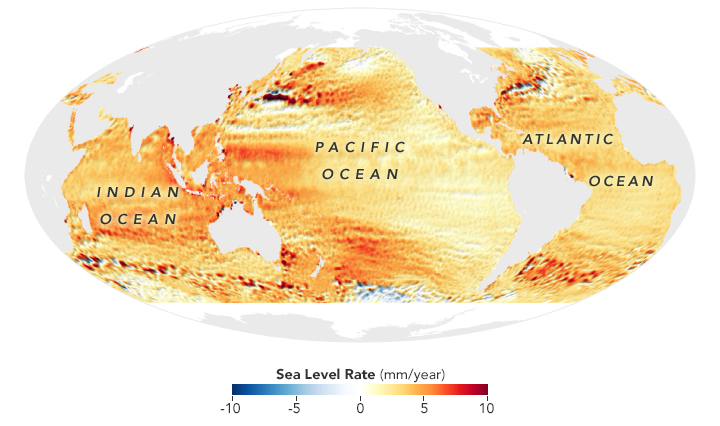 Taking a Measure of Sea Level Rise: Ocean Altimetry