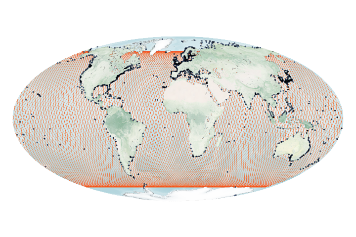 Taking a Measure of Sea Level Rise: Ocean Altimetry - selected image