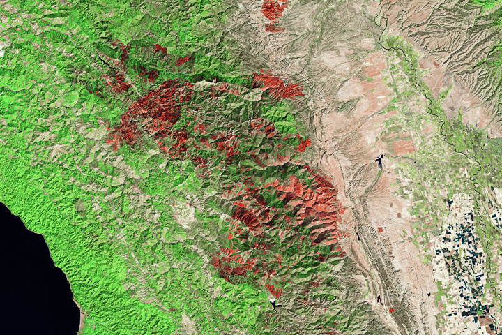 Record-Setting Fires in Colorado and California - selected image