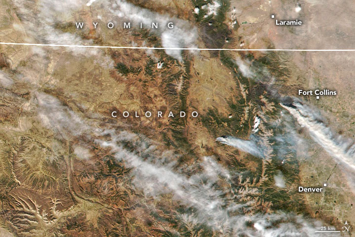 Record-Setting Fires in Colorado and California