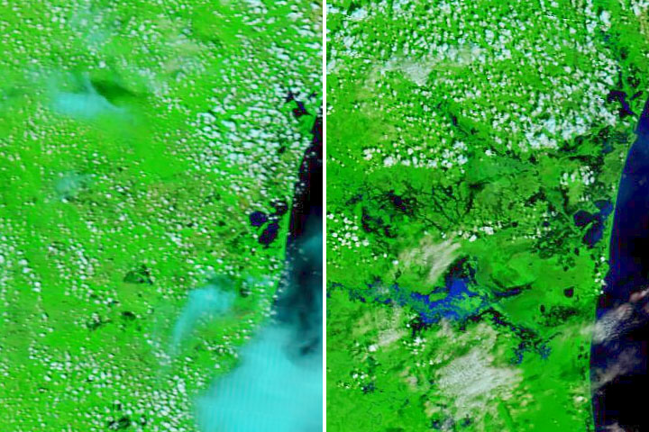 Eta Floods Nicaragua