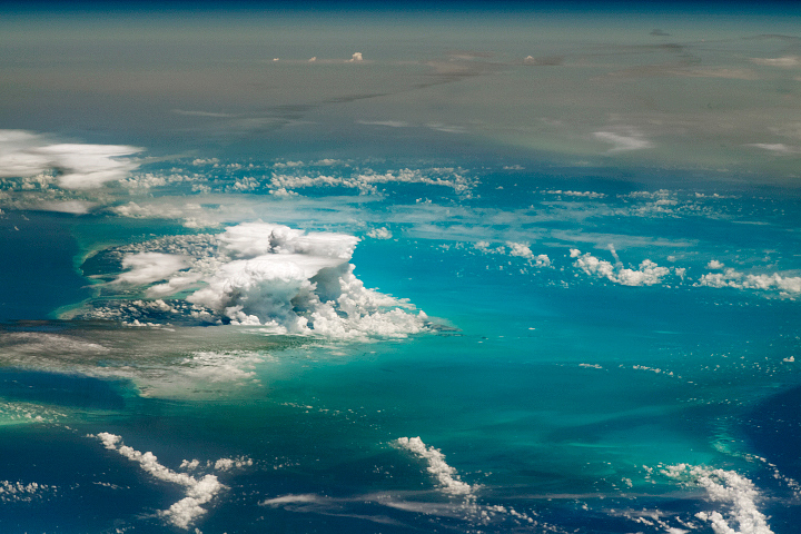 African Dust Plume Blankets the Caribbean - selected child image