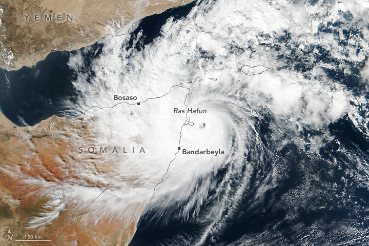 Gati Makes Historic Landfall in Somalia - selected image