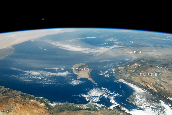 Dust Over Seas