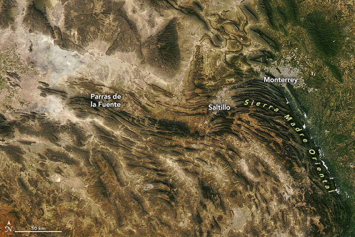 "A Sliver of Mexico's ""Mother Mountain Range"""