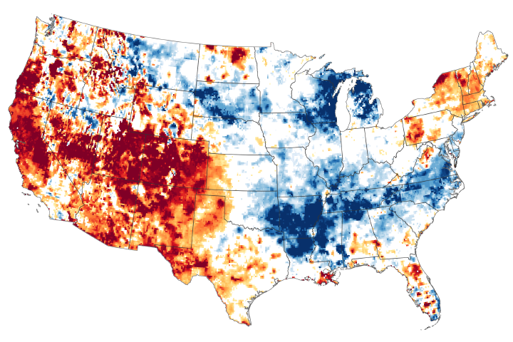 The Drying U.S. West