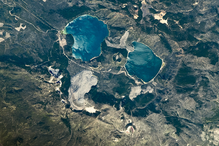 Newberry Volcano - selected image