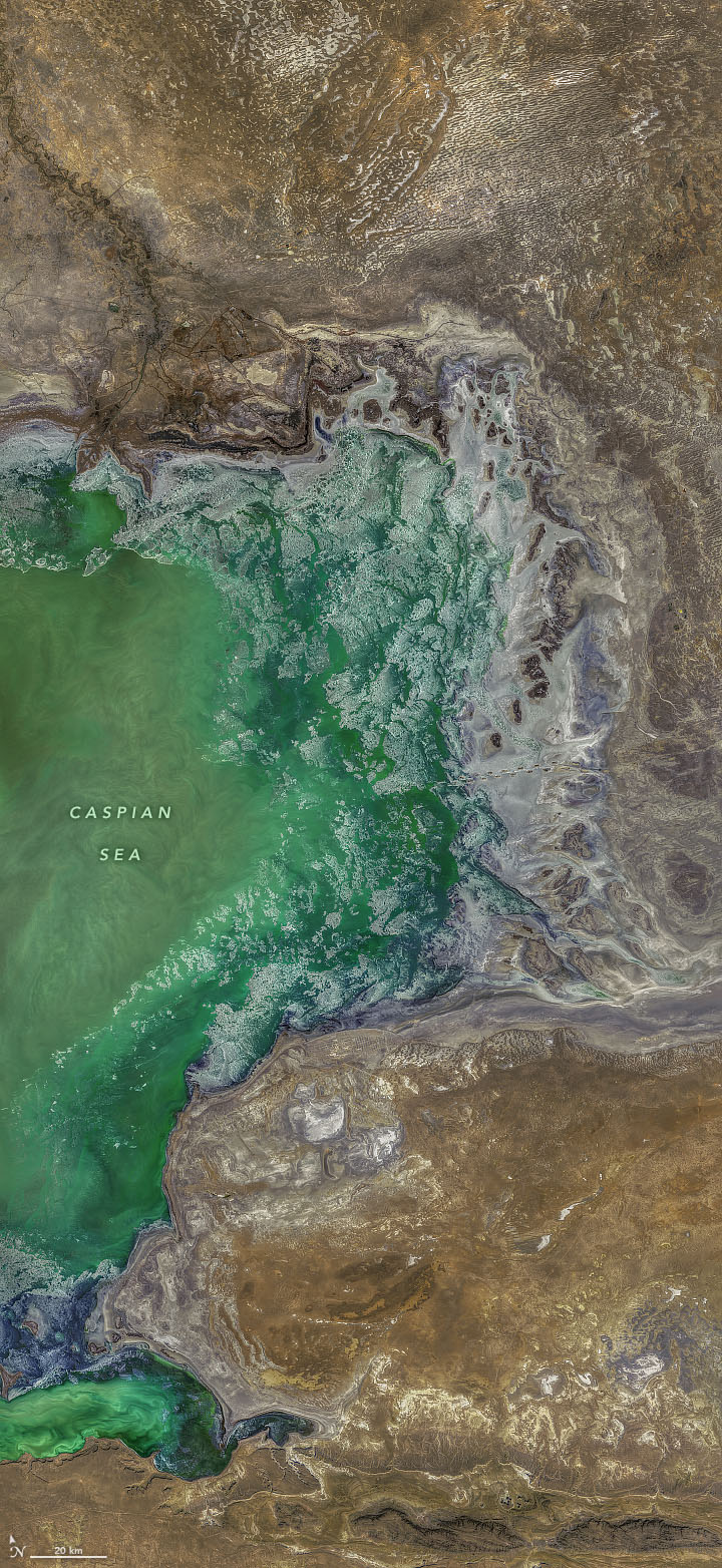 Textures Around the North Caspian - related image preview