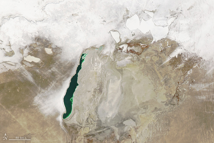 Aral Sea in Winter - related image preview