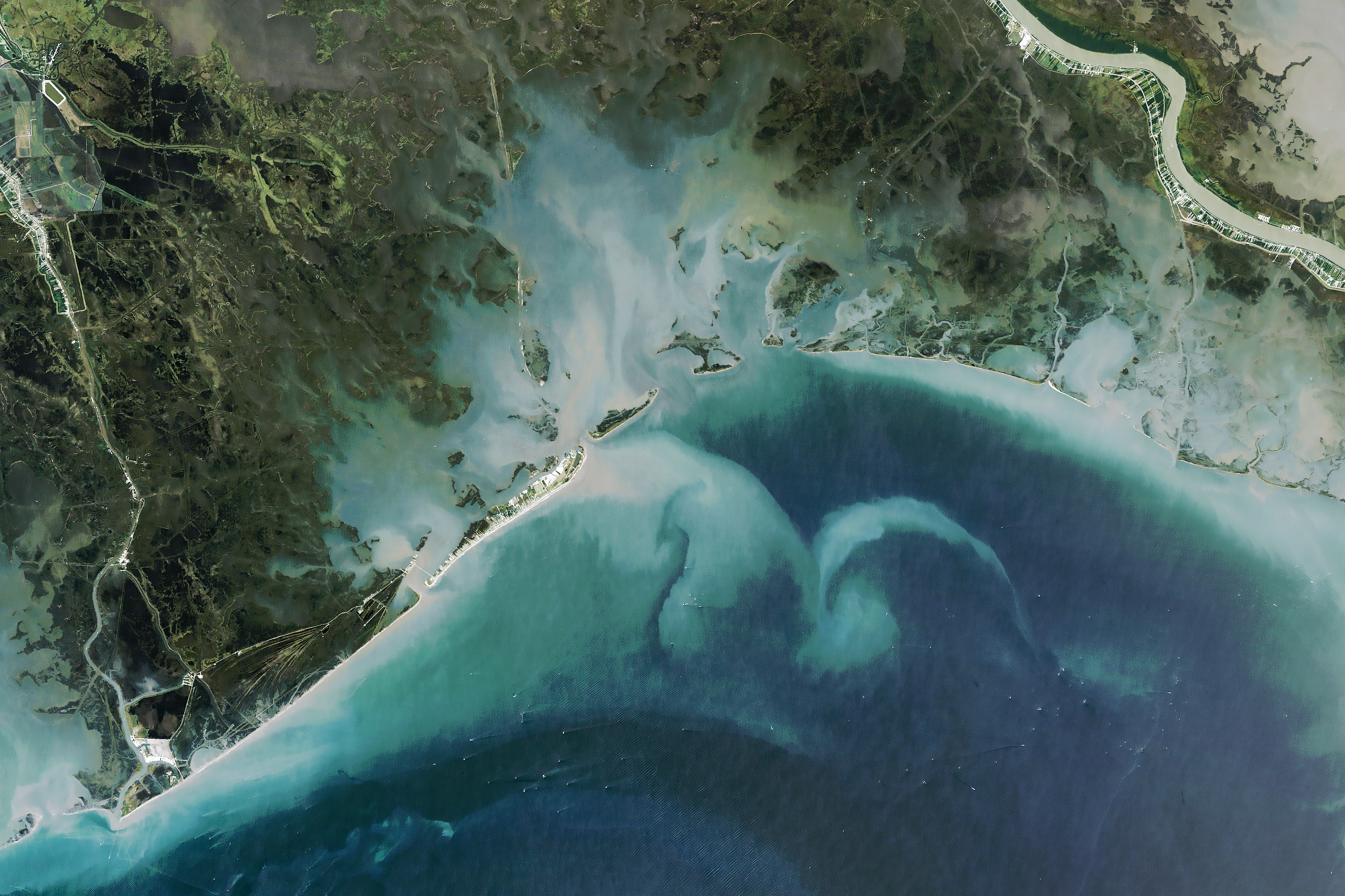 Reshaping Coastal Louisiana - related image preview