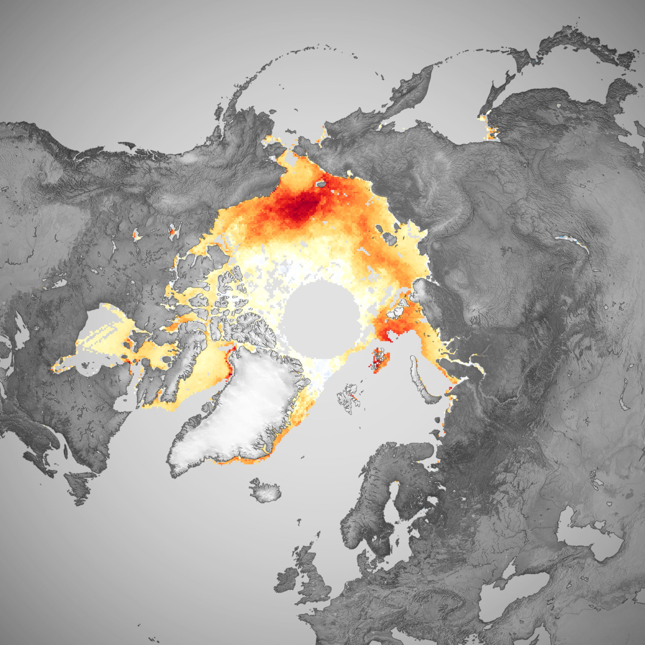 The Long Decline of Arctic Sea Ice - related image preview