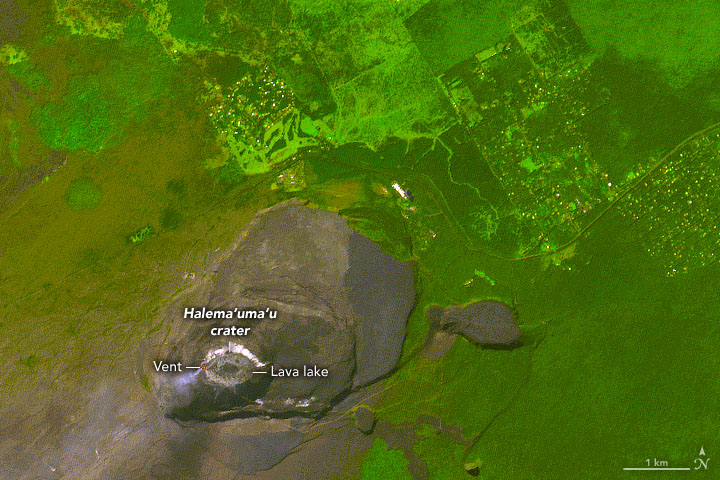 Kilauea's Lava Lake Returns - related image preview
