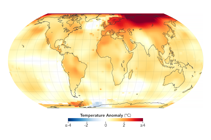2020 Tied for Warmest Year on Record - related image preview