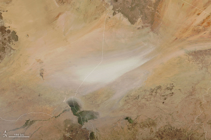 Another Dusty Day in Chad