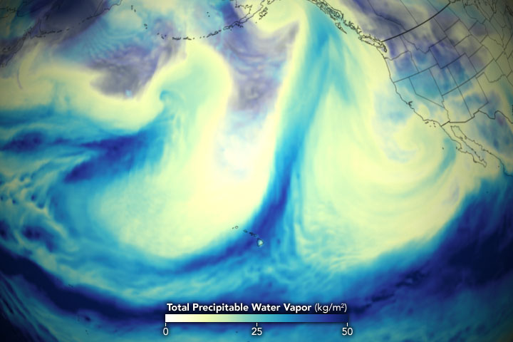 Potent Atmospheric Rivers Douse the Pacific Northwest - related image preview