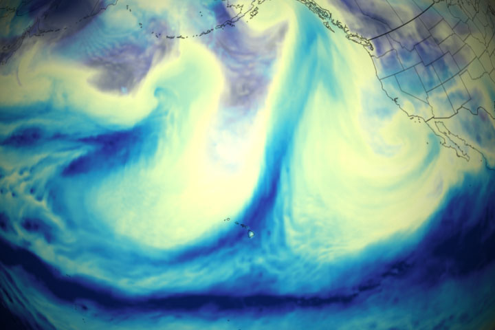 Potent Atmospheric Rivers Douse the Pacific Northwest