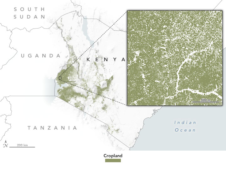 NASA Data Aid Food Security Assessments in Kenya