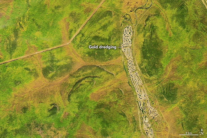 Gold Mining in Russia's Central Aldan Ore District - related image preview