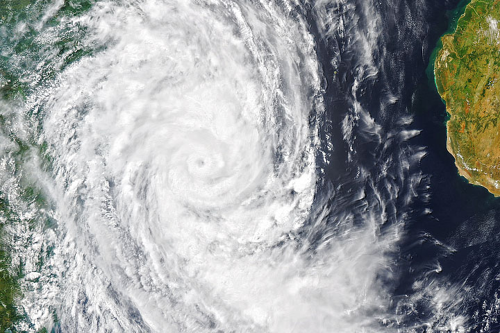 Tropical Cyclone Guambe - selected image