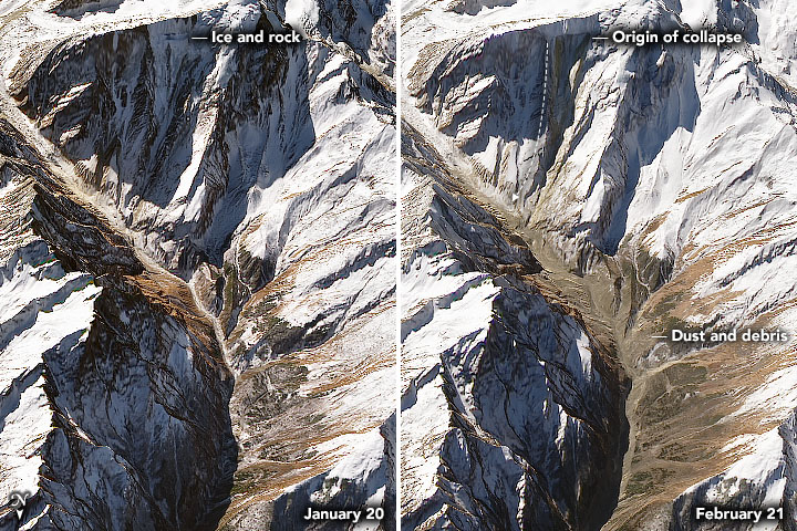 A Deadly Debris Flow in India - related image preview