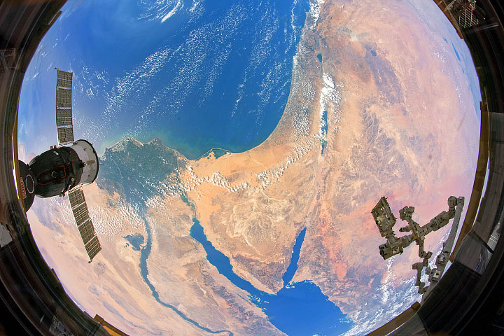 Fisheye Over Sinai
