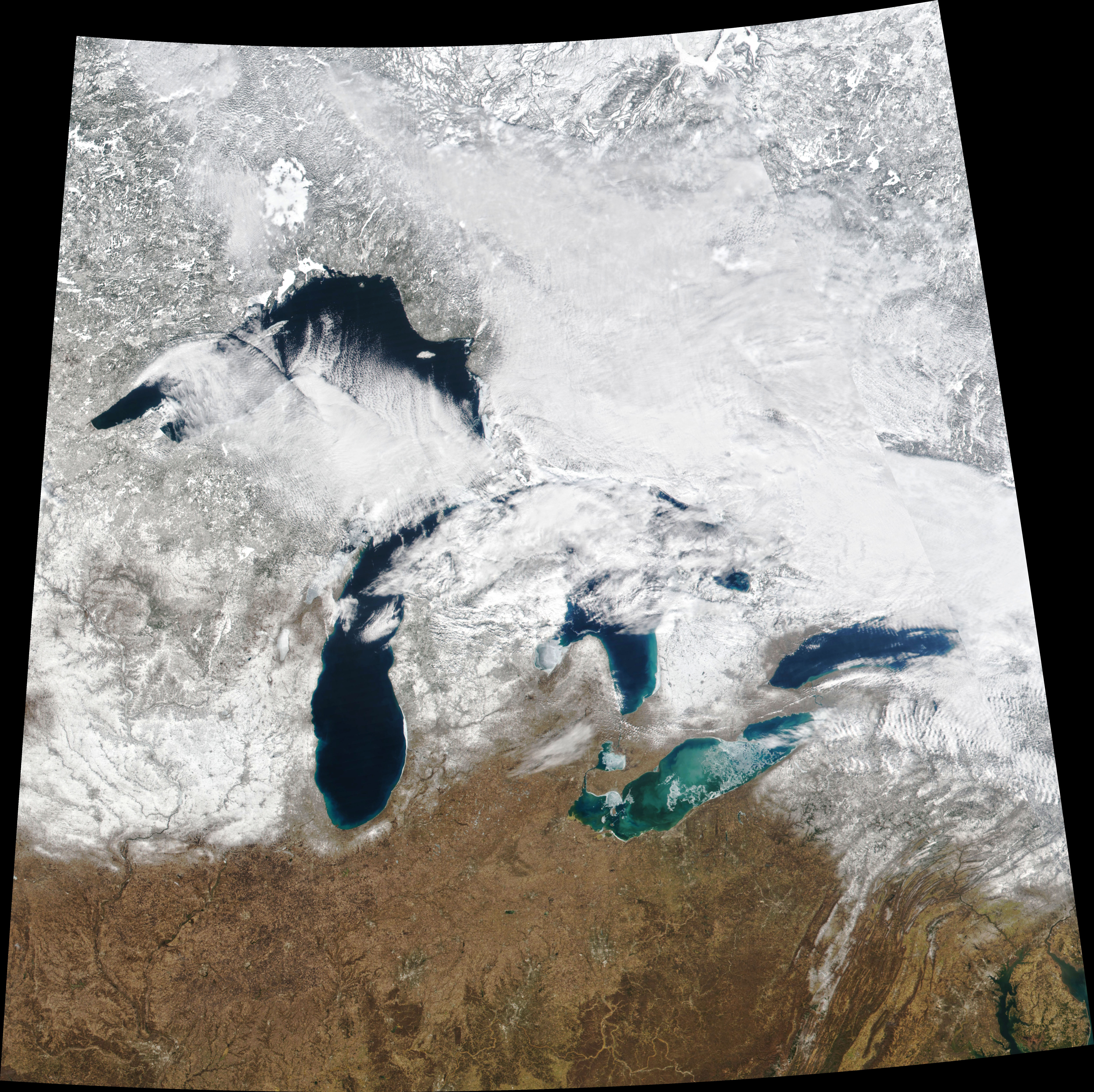 Wild Swings in Great Lakes Ice - related image preview