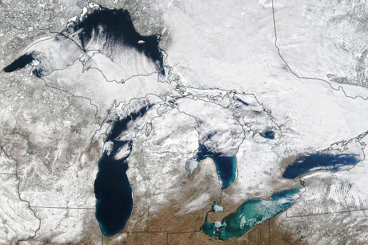 Wild Swings in Great Lakes Ice - selected image