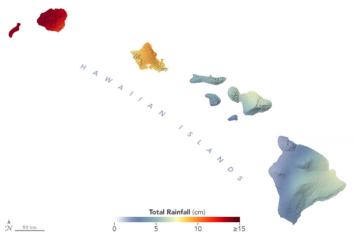 Torrential Rains Drench Hawaii - related image preview