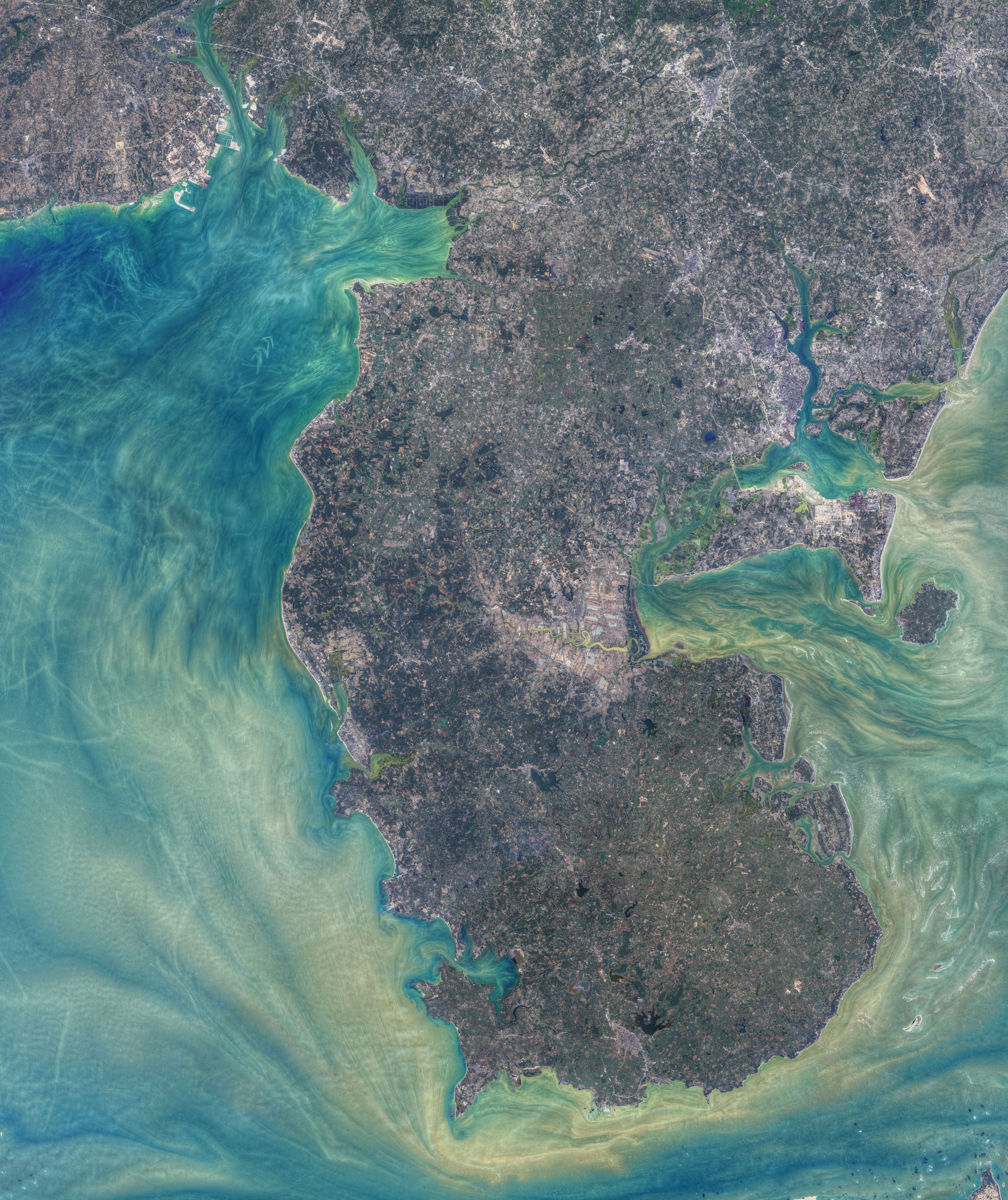 Patterns Around Leizhou Peninsula - related image preview