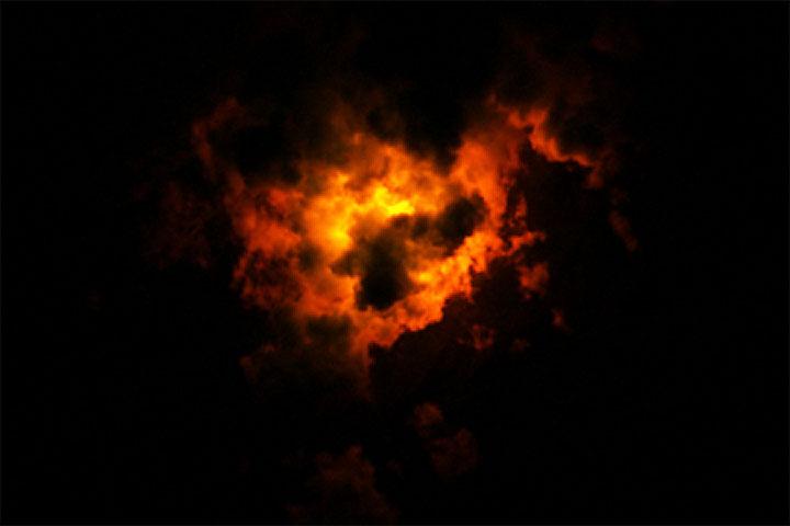 Landsat Views a Nighttime Eruption