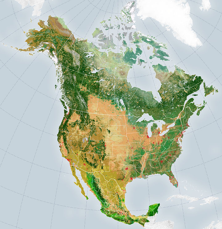 Satellite Mappers Have North America Covered - related image preview