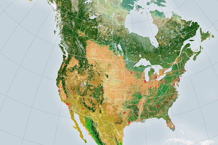 Satellite Mappers Have North America Covered - selected image