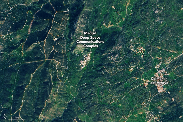 A Line from Spain to Deep Space - related image preview