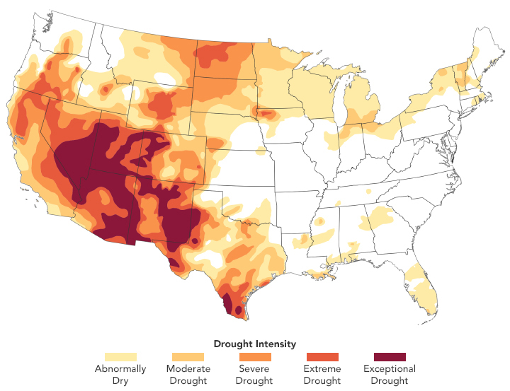 Drought Conditions Continue in Spring 2021