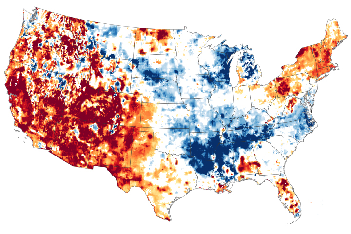 Drought Conditions Continue in Spring 2021 - selected image