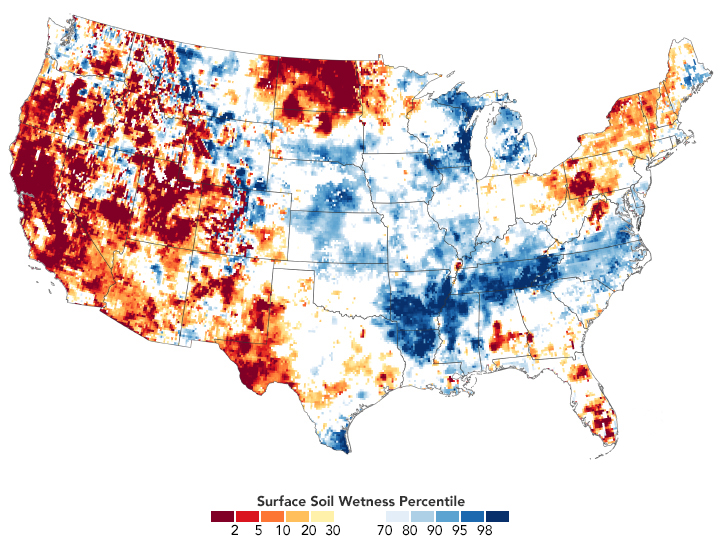 Drought Conditions Continue in Spring 2021 - related image preview