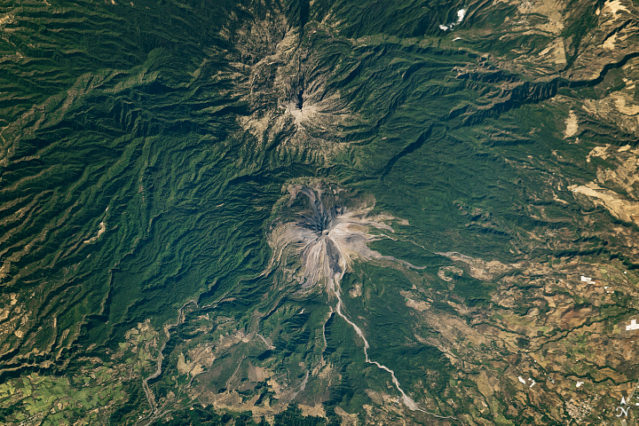 Two Volcanic Peaks that are Far from Twins - related image preview