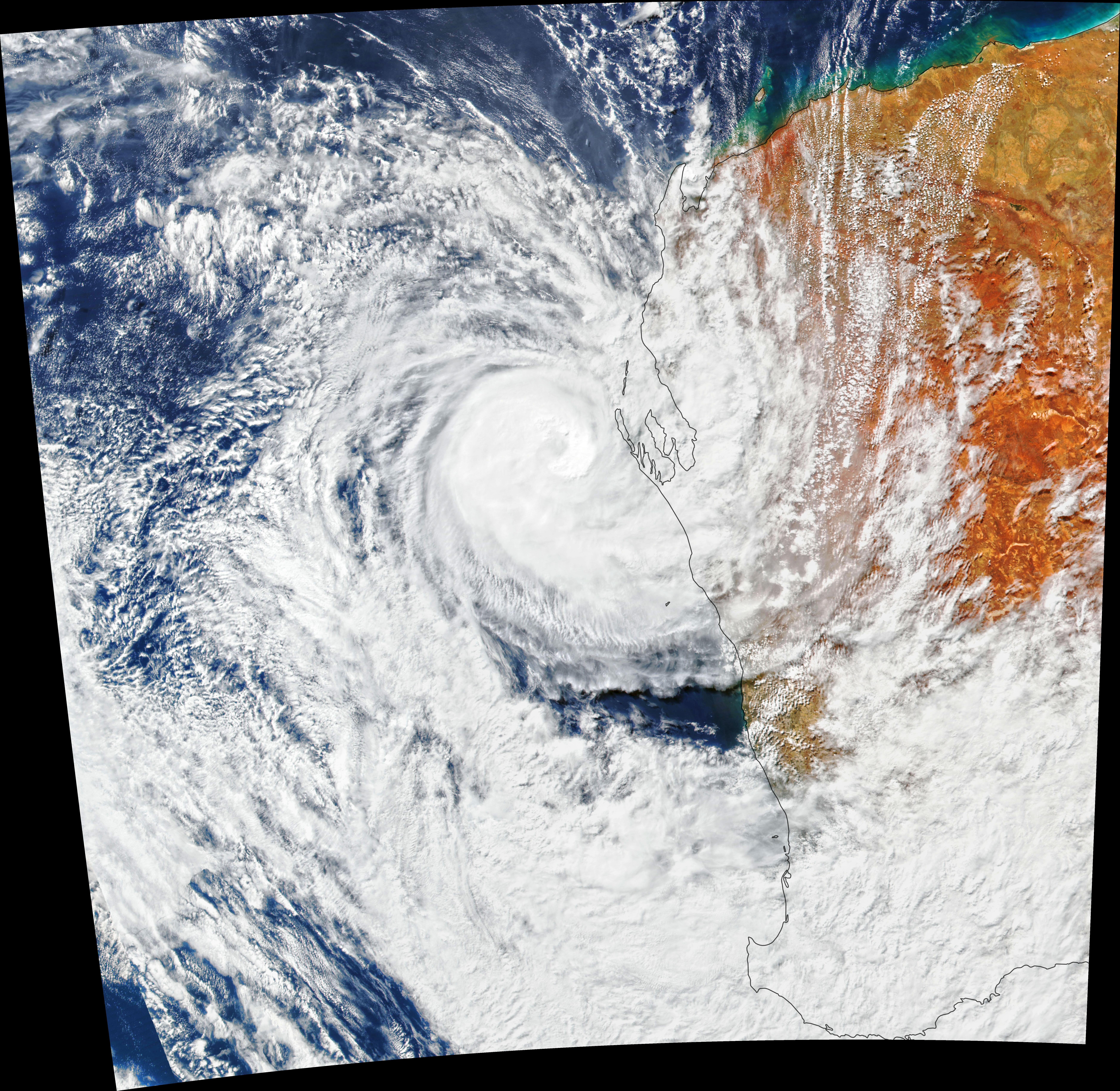 Seroja Slams Australia - related image preview