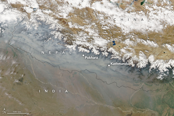 A Fierce Fire Season in Nepal - related image preview
