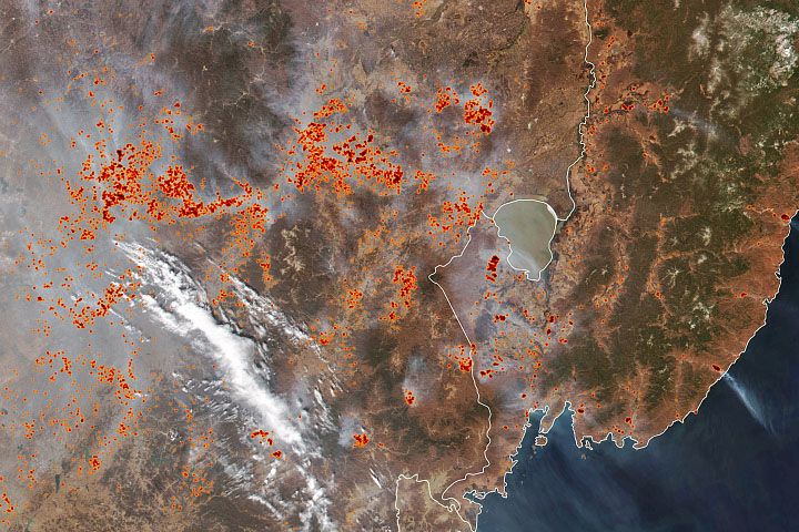 Fires in the Far East